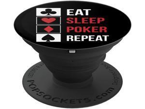 Eat Sleep Poker Repeat Funny Texas Hold Em