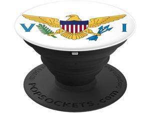Flags of the World Apparel Co. US Virgin Islands Flag PopSockets Stand for Smartphones and Tablets