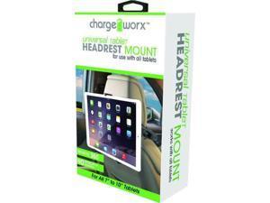 Chargeworx CX9908BK Tablet Headrest Mount Black