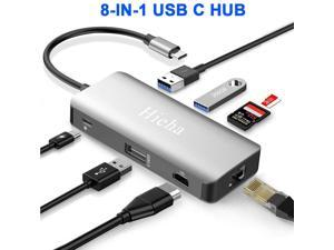 Broonel USB Ethernet USB Network Adapter,LAN Adapter with Multi USB 3.0 Ports Compatible with The Lenovo ThinkBook Plus 13.3
