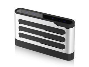 LFS 40W Bluetooth Speakers, Wireless Speakers with Digital Sound Field Processing(DSP), Surround Stereo Sound, Strong Bass for iPhone, iPad, Samsung, Nexus,Laptops and More (Silver)