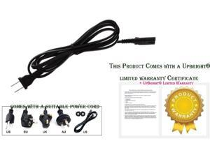 """UPBRIGHT New AC in Power Cord Outlet Plug Cable for Samsung UN40JU6700 40"""" UN48JU6700 48"""" UN55JU6700 UN55JU6700F 55"""" UN65JU6700 UN65JU6700FXZA 65"""" Curved UHDTV Ultra HD Smart LED TV HDTV Television"""