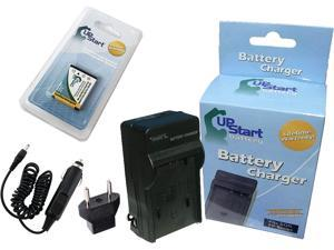 Battpit Battpit New Digital Camera Battery Charger Replacement for Casio Exilim EX-Z35BK 900 mAh