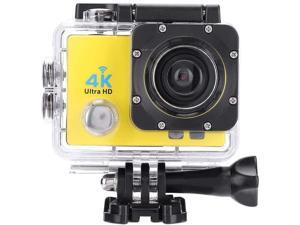 Navitech 9 in 1 Action Camera Accessory Combo Kit and Rugged Blue Storage Case Compatible with The GoXtreme Falcon 4K Action Camera