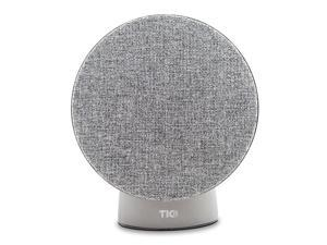 TIC BA1 Powered Bookshelf Desktop Bluetooth HiFi DSP Art Speakers - 36 w RMS Gray Fabric