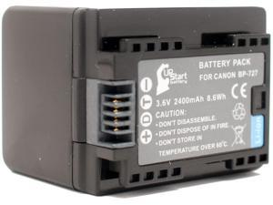 - Replacement for the Canon BP727 Battery and Charger Fully Decoded Canon Vixia HF R82 Camcorder Battery Charger Ultra High Capacity 2900 mAh 3.6V