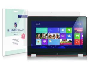 iLLumiShield Matte Screen Protector Compatible with Lenovo IdeaPad Yoga 13 inch (2-Pack) Anti-Glare Shield Anti-Bubble and Anti-Fingerprint PET Film