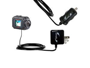 Gomadic USB Data Hot Sync Straight Cable designed for the Polaroid XS10 with Charge Function Two functions in one unique TipExchange enabled cable