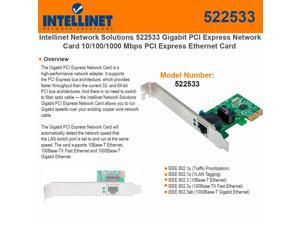 10//100//1000Mbps Ethernet NIC Card Broadcom BCM5751 Single RJ45 Copper Port ipolex Gigabit Desktop Network Card