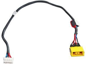 DC power jack in cable HARNESS for LENOVO IDEAPAD G505-59373011 G505-59373013