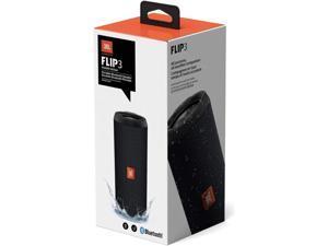 JBL Flip 3 Stealth Edition Waterproof Portable Bluetooth Speaker with Rich Deep Bass Black
