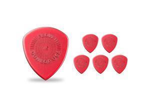 Dunlop Flow Standard Grip Guitar Picks 1.5 mm 6 Pack
