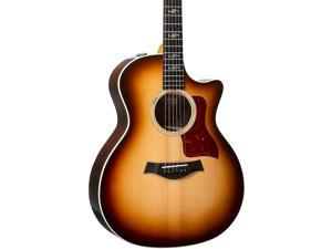 Taylor 414ce V-Class Special Edition Grand Auditorium Acoustic-Electric Guitar Shaded Edge Burst