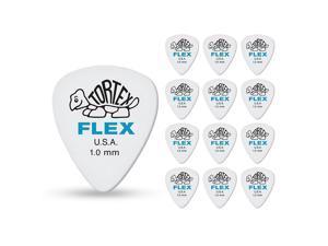 Dunlop 428 Tortex Flex Standard, 12 Pack, 1.00mm