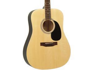 Savannah SGD-12 Dreadnought Acoustic Guitar Natural