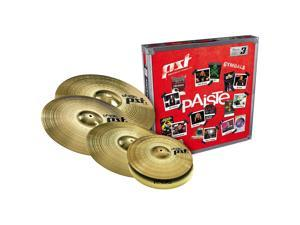 "Paiste PST 3 Limited Edition Universal Cymbal Set with Free 18"" Crash 14, 16, 18 and 20 in."