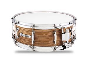 Black Swamp Percussion Dynamicx BackBeat Series Snare Drum with Zebrawood Veneer 14 x 5.5 in.