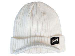 Gibson Radar Knit Beanie, White One Size Fits All