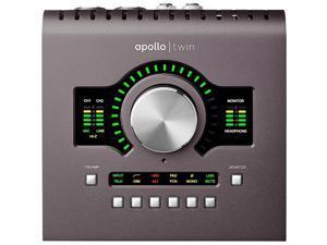Universal Audio Apollo Twin MKII 2x6 Audio Interface, UAD-2 DUO Core Processing
