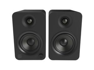 Kanto YU4 Powered Bookshelf Speakers with Built-In Bluetooth - Pair (Matte Black)