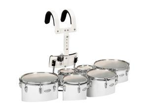 Sound Percussion Labs Birch Marching Sextets with Carrier 6/6/8/10/12/13 White