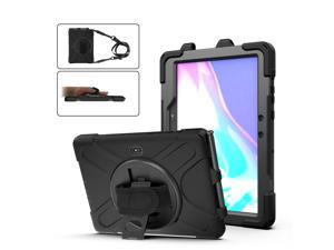 Samsung Tab Active Pro 10.1 2019 Case with Pencil Holder / Rotatable Stand / Hand Strap and Shoulder Belt Shockproof Cover for Samsung Tab Active Pro 10.1 inch 2019 Tablet Model SM-T547 T540 T545