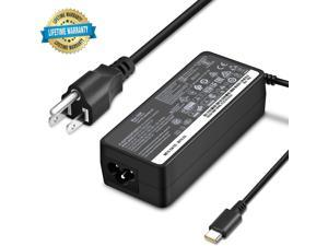 USB C Laptop Charger 65W for Lenovo Adapter for Chromebook C330 S330 100e Yoga C930 C940 S730 720 730 910 920 13 IdeaPad 730s ThinkPad X1 Carbon T470 T470s T480 T480s T570 T580 GX20P92530 Power Supply