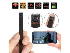 WiFi Camera, Nanny Cam Wireless Security Camera Motion Detection Remote View for iPhone/Android Device Home Surveillance Video Recorder