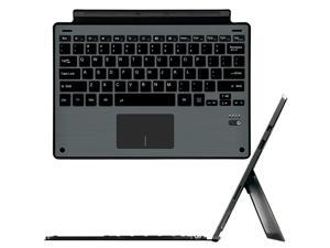 Surface Pro 7 / Pro 6 / Surface Pro 5 / Pro 4 / Pro 3 Type Cover Werleo Ultra-Slim Wireless Bluetooth Keyboard with Trackpad Surface Keyboard Built-in Rechargeable Battery