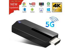 Werleo WiFi Display Dongle 4K 5G + 2.4G Wireless HDMI Adapter Receiver Miracast Airplay DLNA Chromecast TV for Android / iOS / MacBook / PC