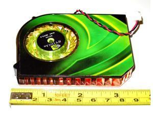 Active Cooling Fan GPU VGA Cooler for Certain EVGA GeForce 9500 GT Video Card