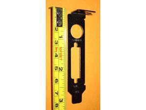 EVGA 206-BR-AL02-01 Low Profile Half Height Size Length Bracket DVI S/Video HDTV