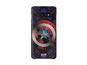 Samsung Galaxy S10 Plus Marvel Smart Back Cover (GP-G975) (Captain America) (International Version)