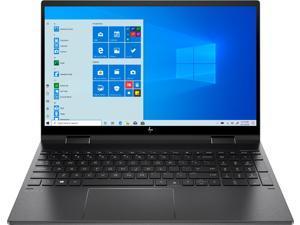 "Newest HP Envy X360 2-in-1 15.6"" Micro-edg FHD IPS Multitouch Screen Laptop | AMD Ryzen 5 4500U|16GB DDR4|1TB M.2 SSD| Backlit Keyboard | Fingerprint |Windows 10| Nightfall Black"