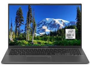 "ASUS VivoBook 15.6"" Touchscreen Customized Laptop | 10th Gen Quad-Core Intel Core i5-1035G1 | 8GB DDR4 RAM 256GB  SSD | FHD (1920 x 1080) NanoEdge Display | Fingerprint Reader | Windows 10 | Gray"