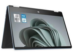 "HP Pavilion 14"" X360 2-in-1 Touch Screen Customized Laptop | 10th Gen Quad-Core Intel Core i5-1035G1 | 16GB DDR4 RAM 256GB  SSD | Full HD (1920 x 1080) Nano-Edge Display | Windows 10 | Blue"
