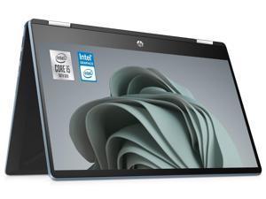 "HP Pavilion 14"" X360 2-in-1 Touch Screen Customized Laptop | 10th Gen Quad-Core Intel Core i5-1035G1 | 8GB DDR4 RAM 512GB  SSD | Full HD (1920 x 1080) Nano-Edge Display | Windows 10 | Blue"