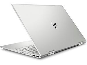 "Hp Envy X360 2 in 1 Convertible 15.6"" Customized Laptop Intel Quad Core i7-8550U 8GB RAM 500GB HDD FHD Edge-to-Edge IPS Touch Display HP Pen Upto 10 Hours Battery Life Windows 10 Silver"