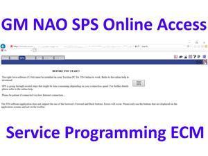 Online Access TIS2Web GM NAO SPS ECU Service Programming - Tech2 - MDI