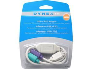 NEW Largship DX-USBPS2 USB-to-PS/2 KVM Mouse Keyboard Port Adapter Cable Converter