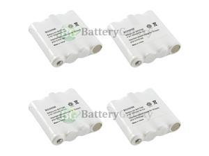 4 Two-Way 2-Way Radio Rechargeable Battery Pack for Midland BATT6R BATT-6R HOT!