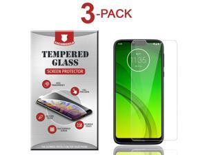 3-Pack Tempered Glass Screen Protector For  Moto G7 Optimo  Maxx