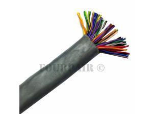 50FT CAT5e Riser CMR 350MHz 25 Pair 24AWG Bulk Trunk Backbone Cable Blue