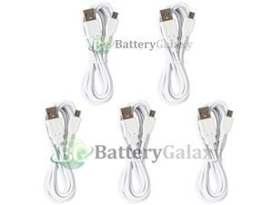 5 USB 6FT Micro Cable for Phone  Galaxy S4 S5 S6 Active Note 1 2 3 4 5