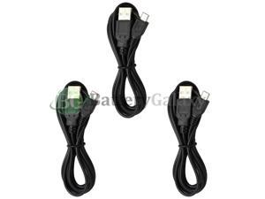 3 Micro USB 6FT Charger Cable for  Galaxy S4 S5 S6 S7 Edge Plus Active
