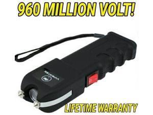 VIPERTEK VTS-989 960 MV Rechargeable LED Police Stun  with Holster