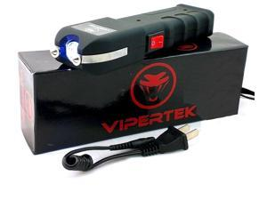 VIPERTEK VTS-989 - 78 Billion Volt Rechargeable LED Stun  w/ Holster Case