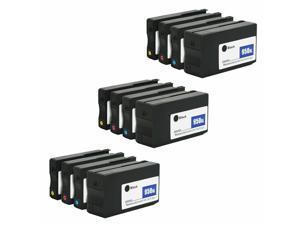 12pcs 932XL 933XL Ink Cartridge for  Printer OfficeJet 6100 6700 7110 7612