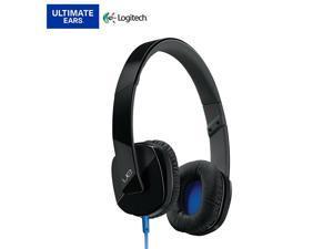UE 4000 On-Ear Stereo 3.5mm Wired Headset Headphones Microphone Black