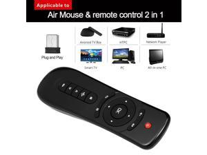 2.4GHz Fly Air Mouse Wireless Handheld Remote Control 6-axis Motion Stick USB Receiver Adapter for Smart TV Android TV Box Projector